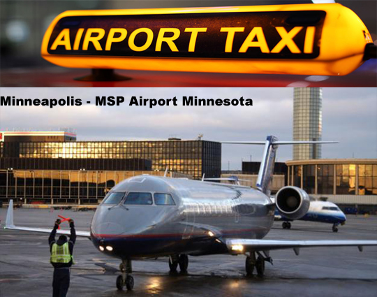 msp airport cab